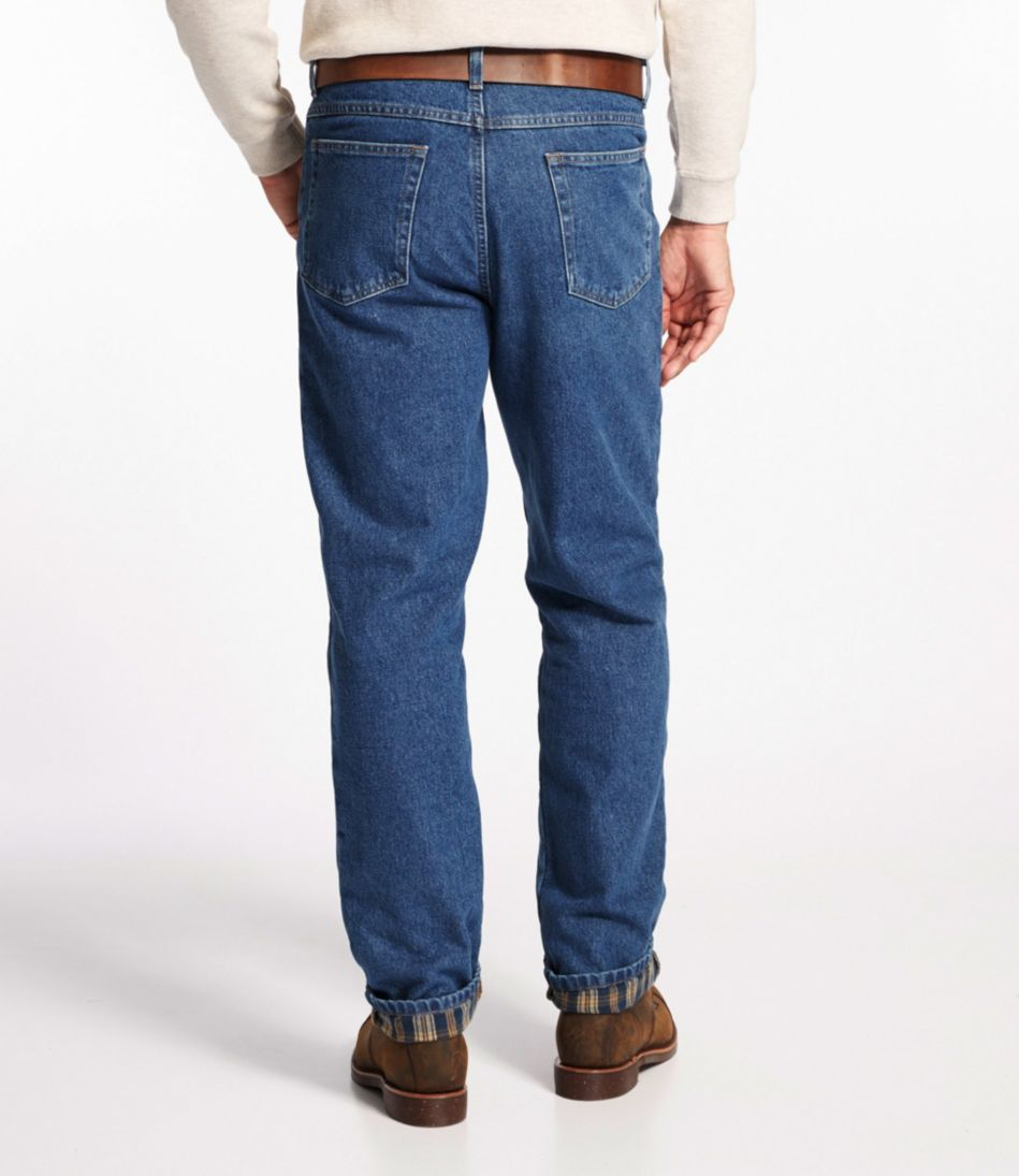 Double L® Jeans, Classic Fit Flannel-Lined