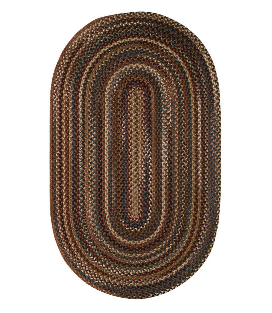 L.L.Bean Braided Wool Rug, Oval