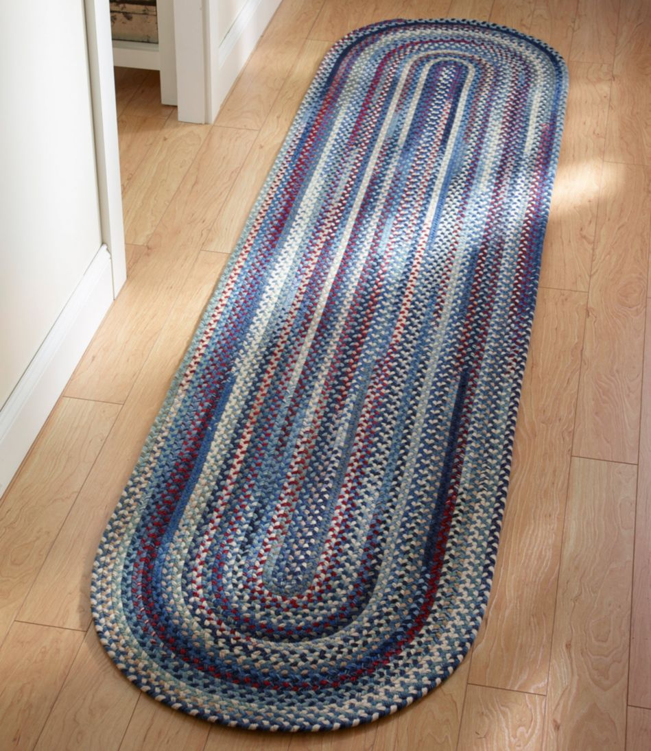 L.L.Bean Braided Wool Runner