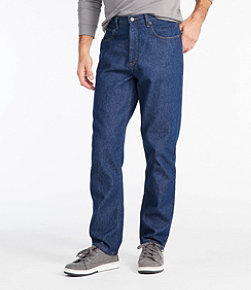 Men's Double L Jeans, Natural Fit