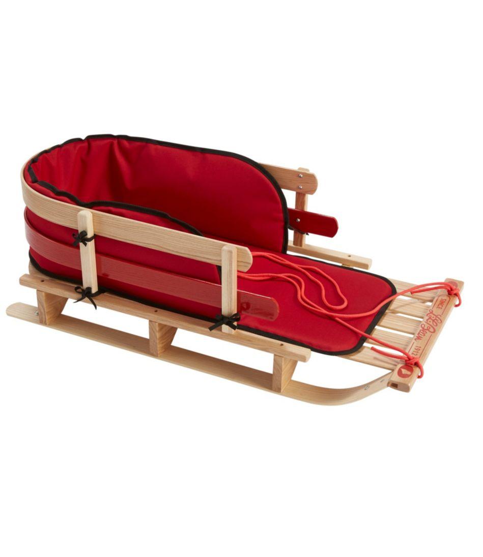 Kids' Pull Sled and Cushion Set