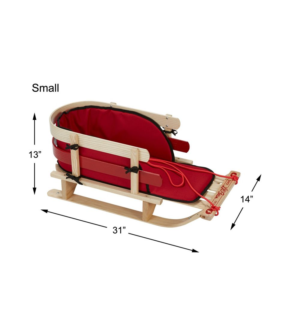 Kids' Pull Sled and Cushion Set