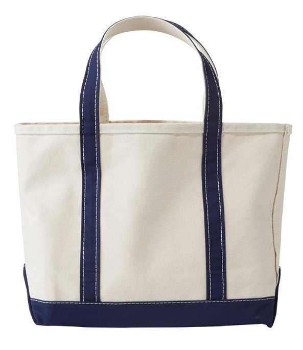 Boat and Tote Bag, Small, Blue Trim, large image number 0