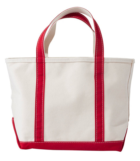 Boat and Tote Bag, Small, Red Trim, large image number 0