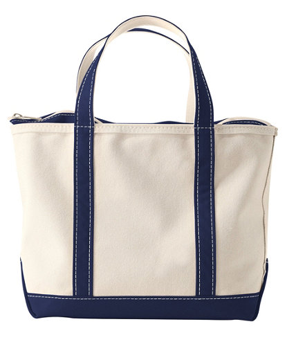 Boat and Tote, Zip-Top | Free Shipping at L.L.Bean.