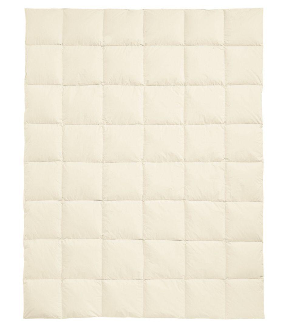 Box-Stitch Goose Down Comforter, Warmer