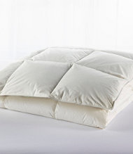 Box-Stitch Goose Down Comforter, Warmer