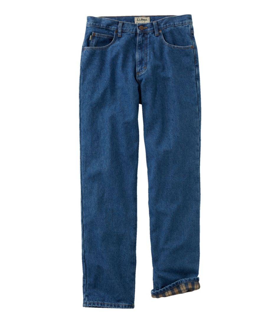 Double L® Jeans, Flannel-Lined Natural Fit