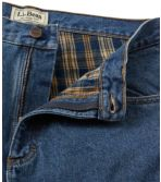 Men's Double L® Jeans, Flannel-Lined Relaxed Fit