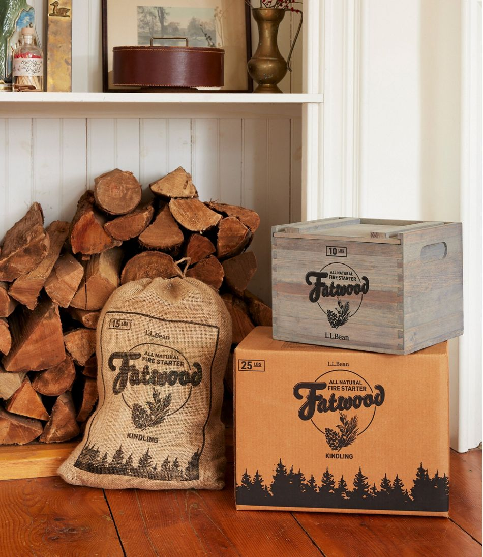 Fatwood Box