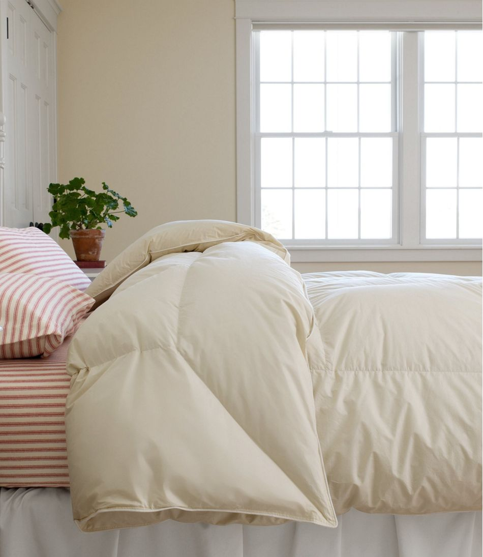 Permabaffle Box Goose Down Comforter, Warm