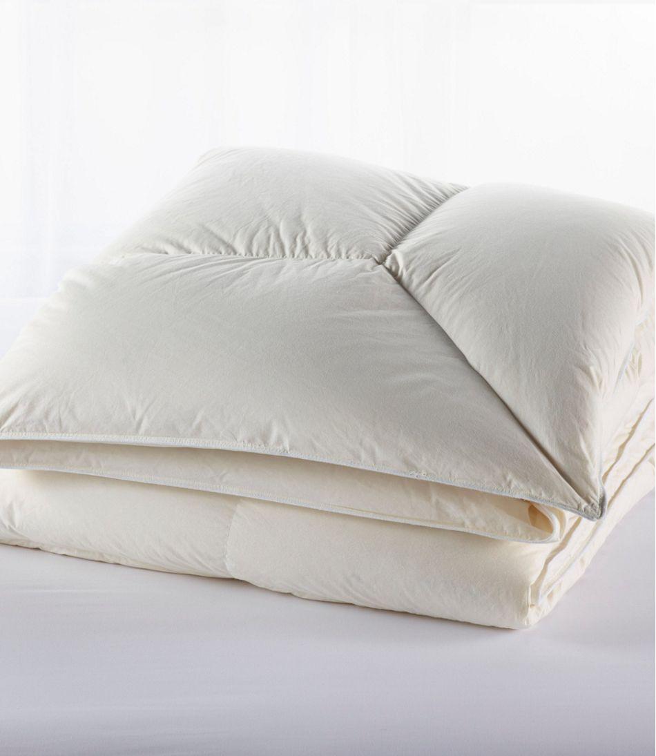 Permabaffle Box Goose Down Comforter, Warm