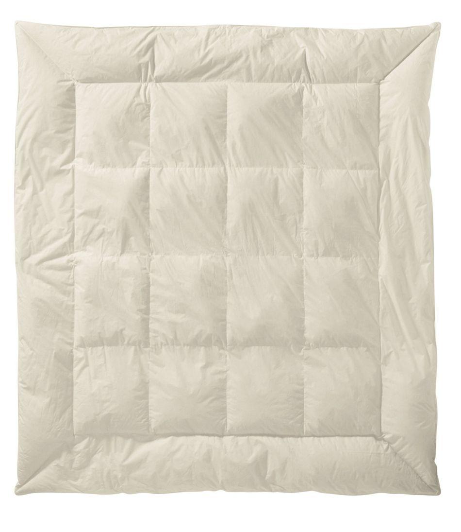 Permabaffle Box Goose Down Comforter, Warmer