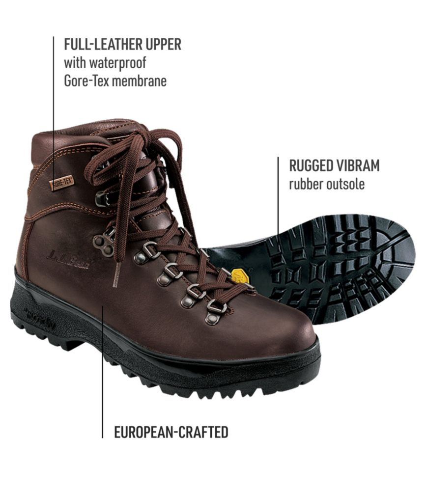 Hiking womens boots leather