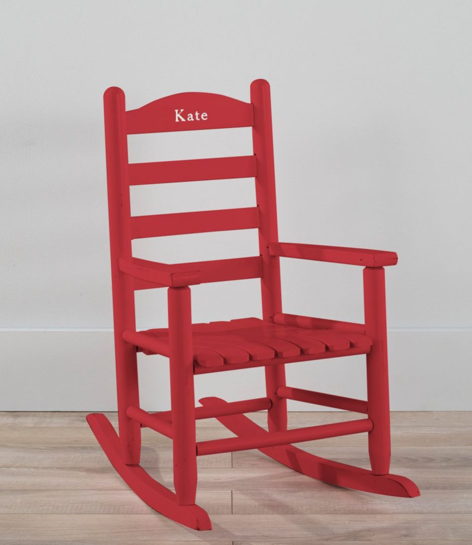 Personalized Kids' Keepsake Rocker