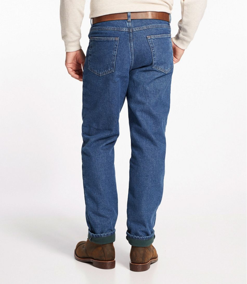 L.L.Bean Double L® Jeans, Fleece-Lined Classic Fit