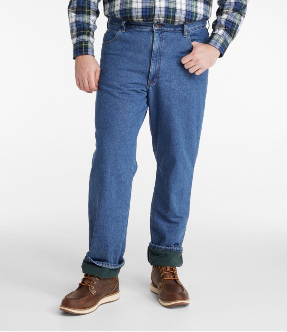 L.L.Bean Double L® Jeans, Fleece-Lined Classic Fit