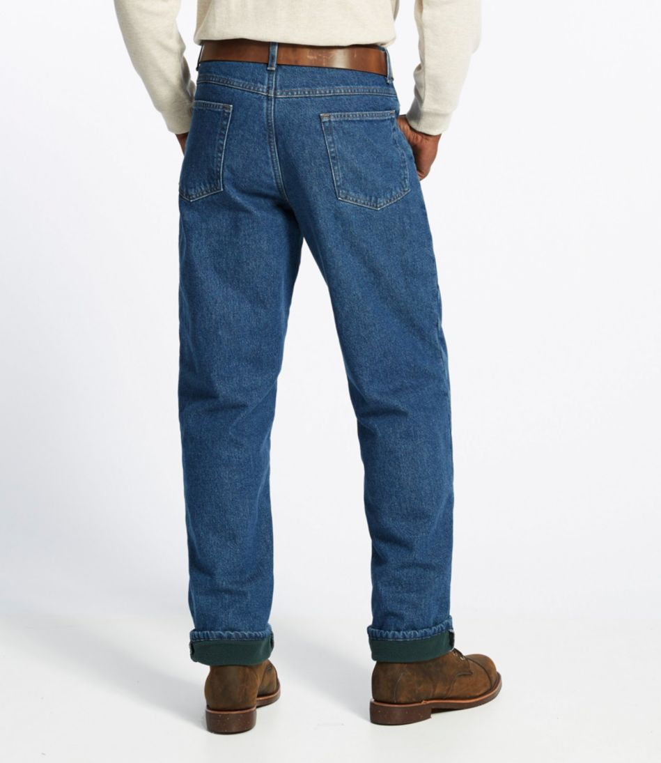 Double L® Jeans, Fleece-Lined Relaxed Fit