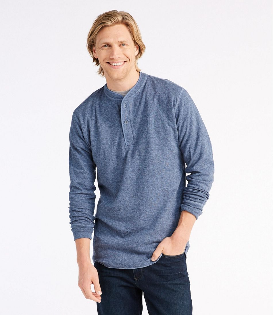 Two-Layer River Driver's Shirt®, Traditional Fit Henley