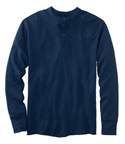 Two-Layer River Driver's Shirt, Traditional Fit Henley