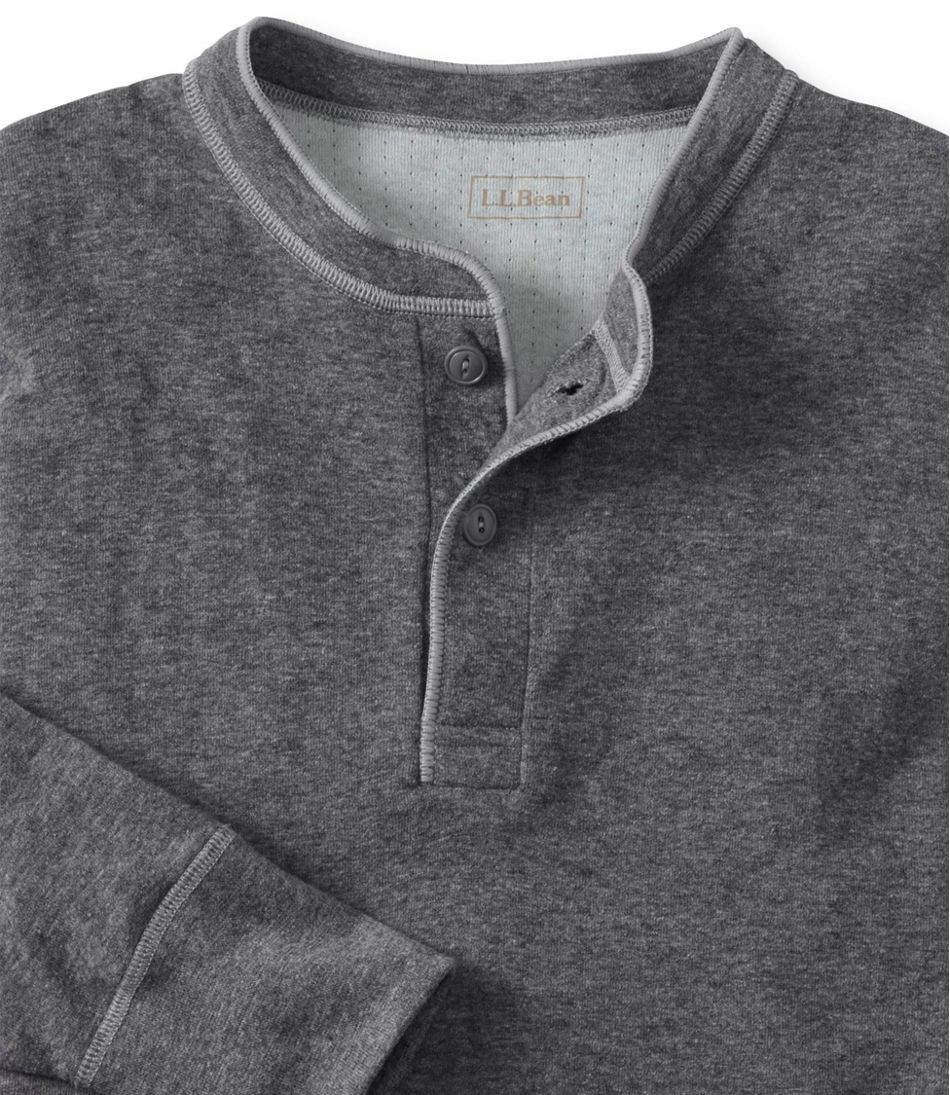 Men's Two-Layer River Driver's Shirt®, Traditional Fit Henley