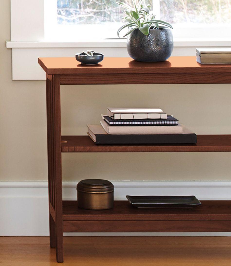 Mission Under-Window Bookshelf