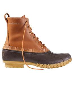 """Men's Bean Boots, 8"""""""