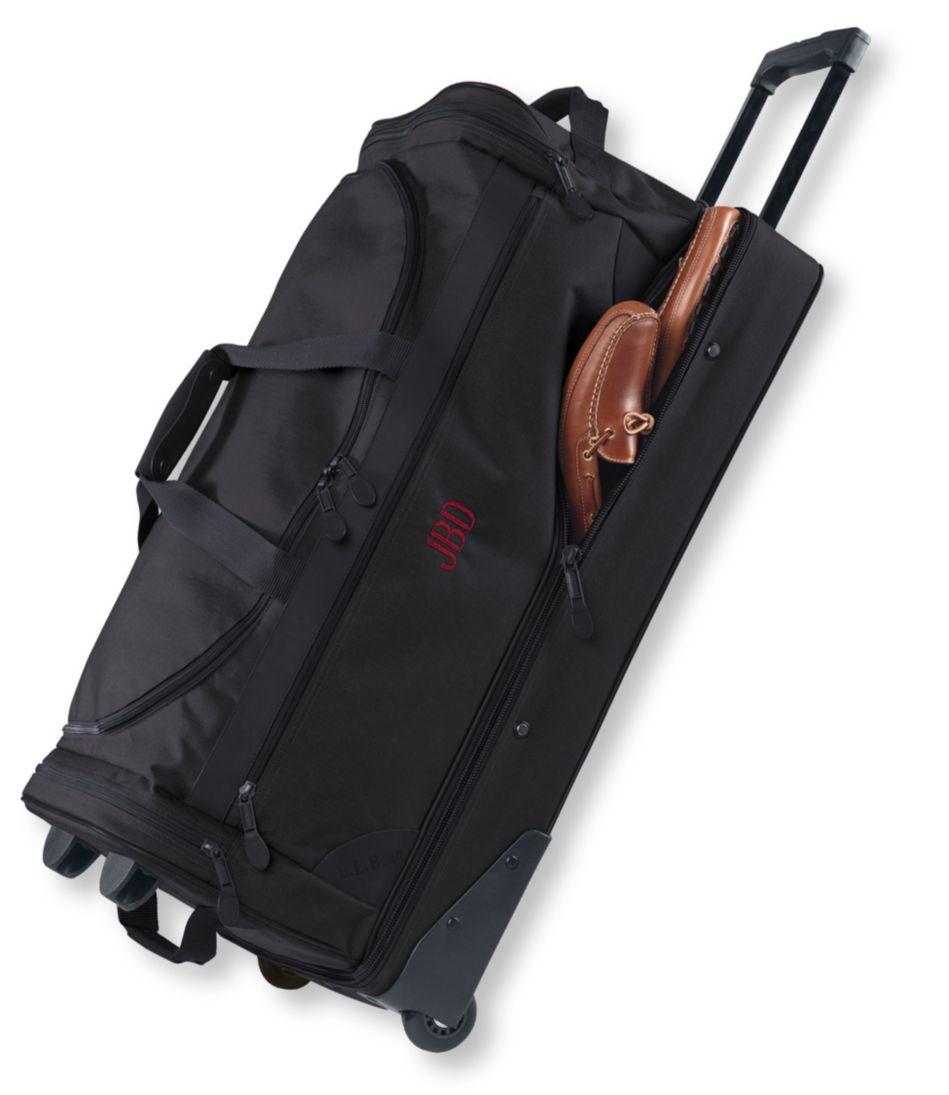 Sportsman's Rolling Gear Bag, Drop-Bottom Extra-Large