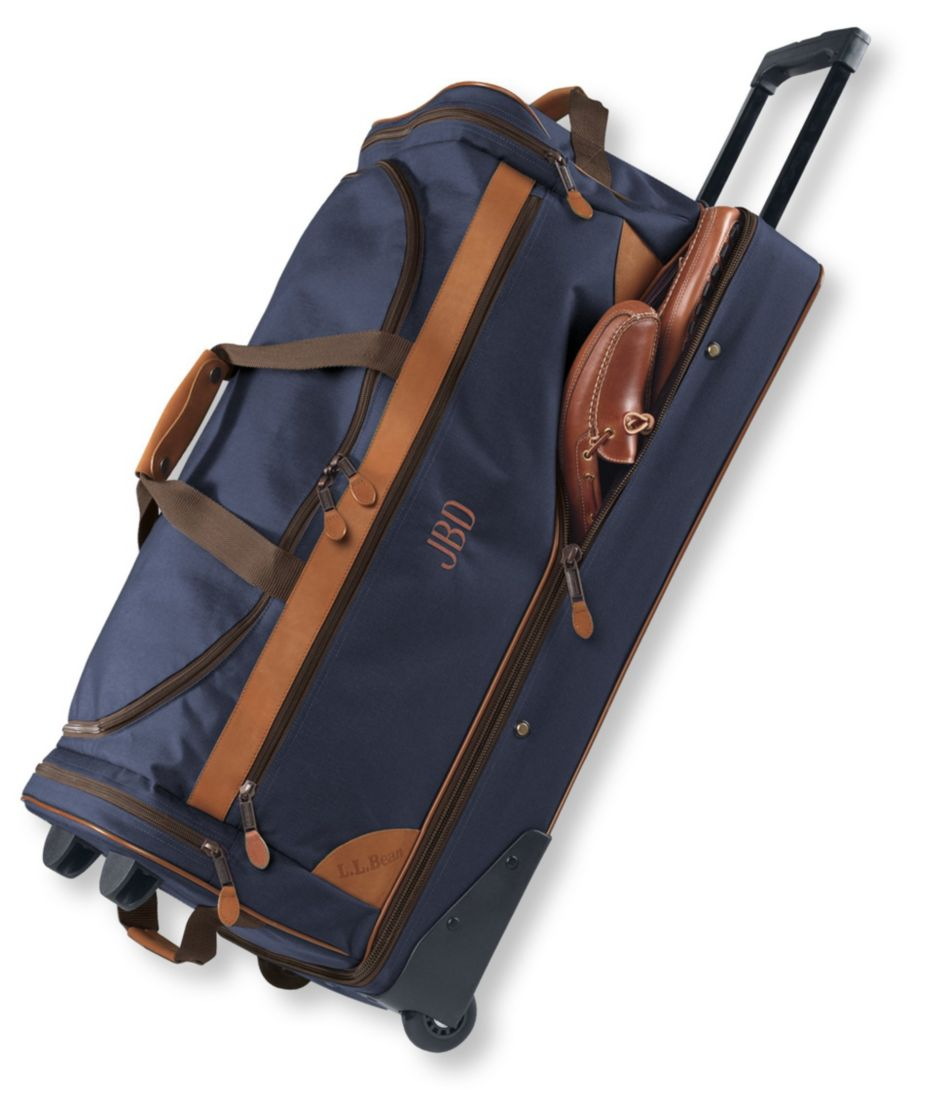 Sportsman's Rolling Gear Bag, Drop-Bottom Extra-Large