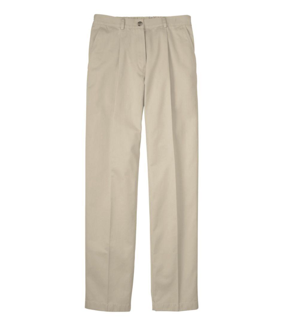 Wrinkle-Free Bayside Pants, Original Fit Comfort Waist Pleated