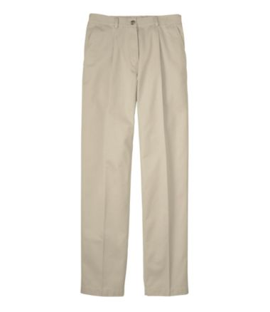 Wrinkle-Free Bayside Pants, Original Fit Comfort Waist Pleated