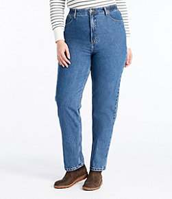 Women's Double L Jeans, Relaxed Fit Comfort Waist