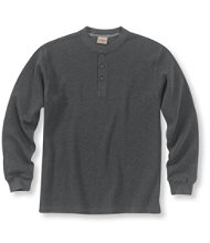 Mini-Waffle Henley, Traditional Fit