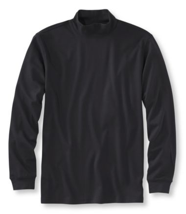 Interlock Mock-Turtleneck, Traditional Fit