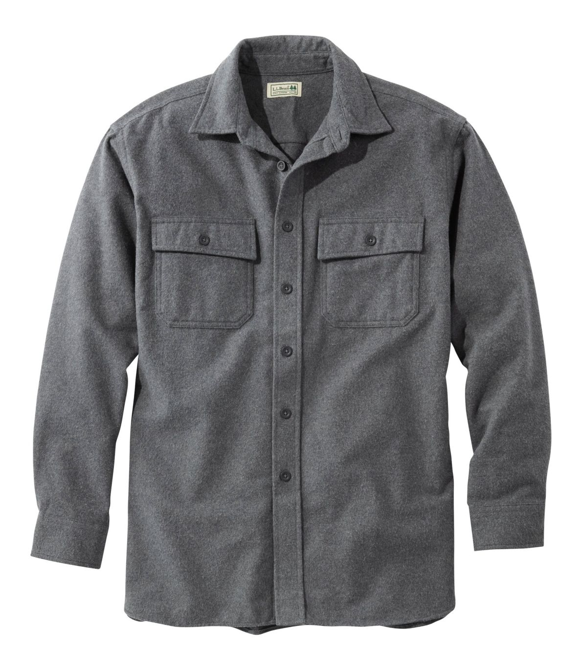 Men's Chamois Shirt, Traditional Fit