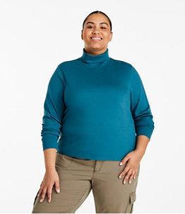 Women's L.L.Bean Interlock Turtleneck, Long-Sleeve