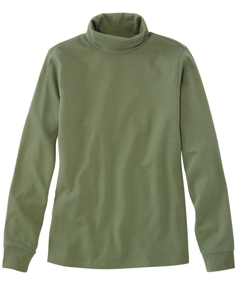 L.L.Bean Interlock Turtleneck, Long-Sleeve