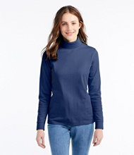 L.L.Bean Interlock Turtleneck, Long-Sleeve
