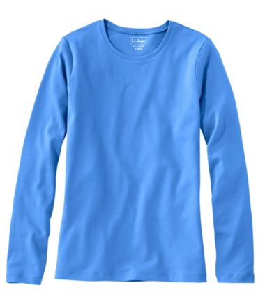 L.L.Bean Tee, Long-Sleeve Crewneck