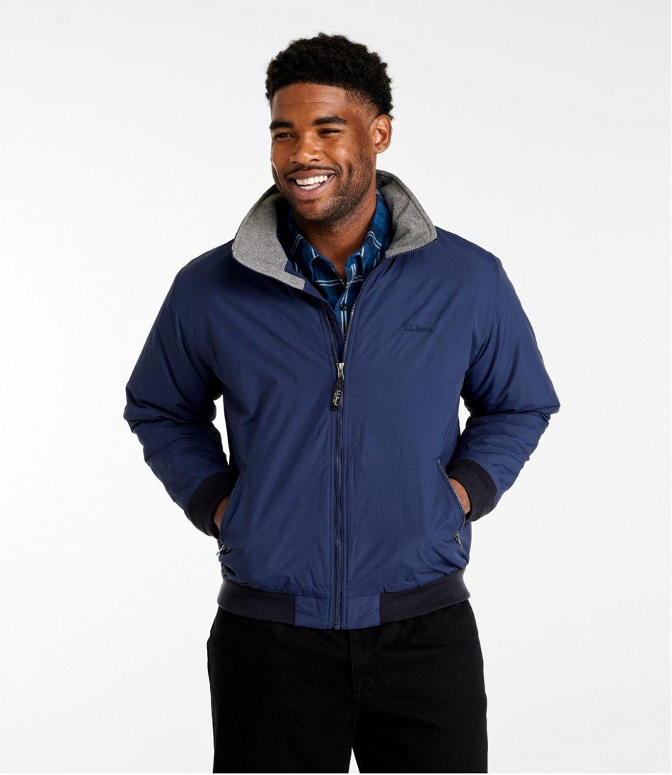 Men's Warm-Up Jacket, Fleece Lined