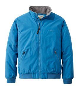 L.L.Bean Men's Fleece Lined Warm-Up Jacket