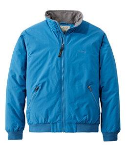 Men's Warm-Up Jacket, Fleece-Lined