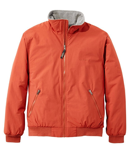 Men's Warm-Up Jacket, Fleece Lined | Free Shipping at L.L.Bean.