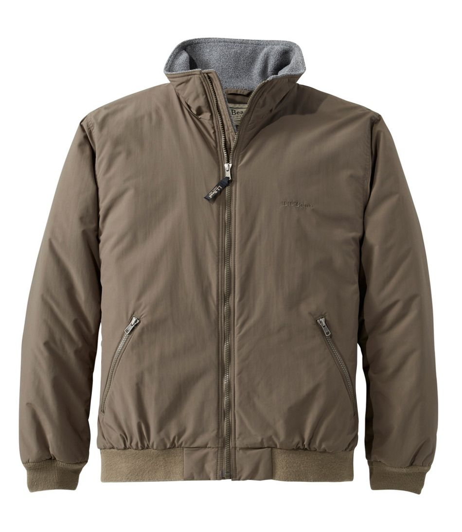 Men's Warm-Up Jacket, Fleece Lined
