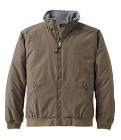 Men's Warm-Up Jacket, Fleece-Lined