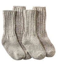 "Merino Wool Ragg Socks, 10"" Two-Pack"