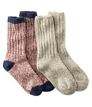 "Merino Wool Ragg Socks, 10"" Two-Pack"