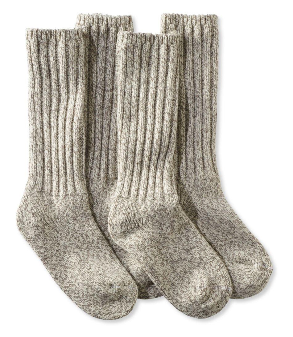 "Adults' Merino Wool Ragg Socks, 12"" Two-Pack"