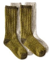 "Merino Wool Ragg Socks, 12"" Two-Pack"
