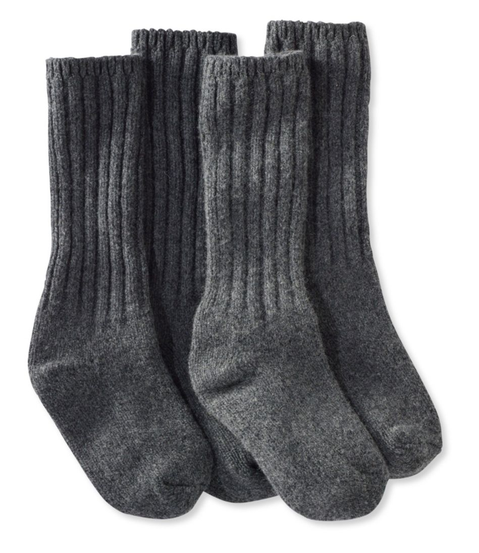 "Merino Wool Ragg Socks, 12"" Two-Pack"